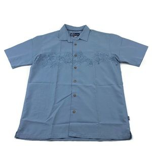Jack oneill shirt hawaiian floral button up